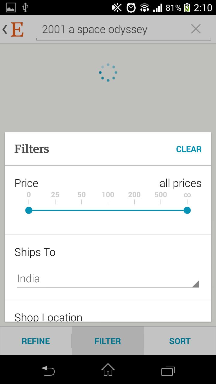 Filter-With -Slider